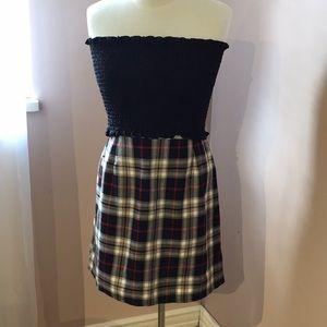 NASTYGAL Plaid Mini Skirt